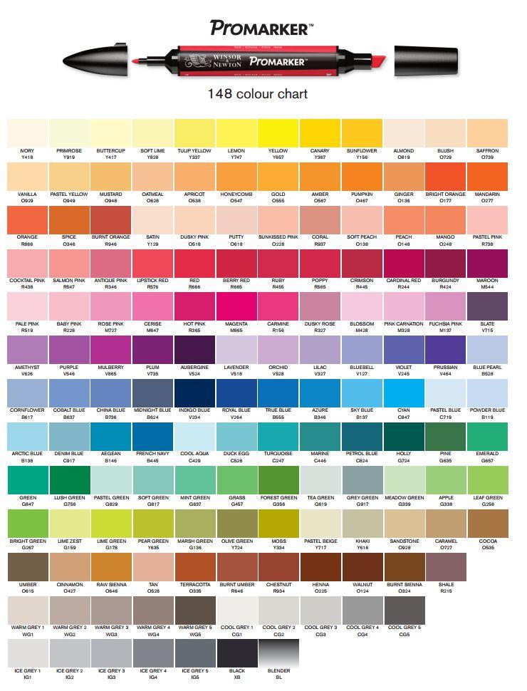 catalogo-de-cores-promarker