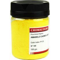 pigmento artistico 100 amarelo cadmio limao