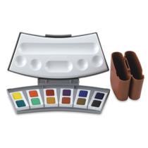 aquarela-pastilha-profissional-pelikan-12-cores