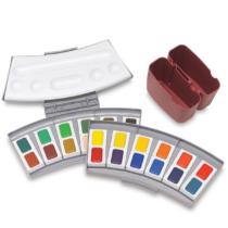 aquarela-pastilha-profissional-pelikan-24-cores