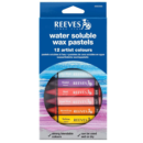 Pastel Aquarelável Reeves 12 Cores