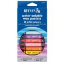 Pastel Aquarelável Reeves 12 Cores