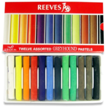 pastel seco reeves 12 cores soft