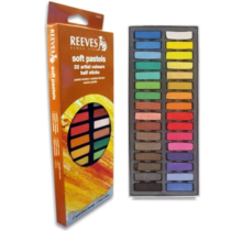 pastel seco reeves 32 cores