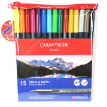 caneta-fibralo-brush-15-estojo-caran-d-ache