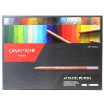 lapis-pastel-caran-d-ache-estojo-40cores-artist
