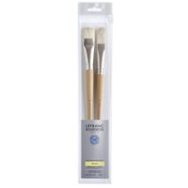 kit pinceis lefranc cod 3013644051748-LB EXTRA-FINE 2 BRUSH PACK LONG HANDLE