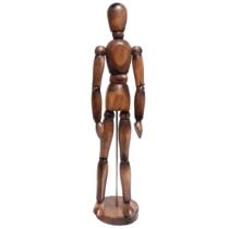 manequim-articulado-vintage-marrom-sinoart-sfm018-ac-c