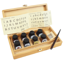calligraphy-wooden-box-winsor-&-newton-