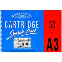 cartridge-skecth-pad-winsor-&-newton-A3-50-folhas